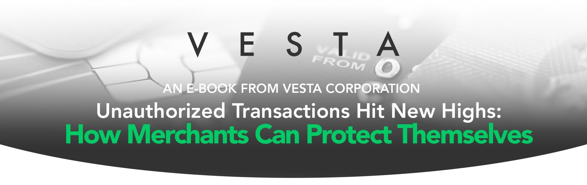 Unauthorized Transactions